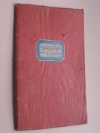 Carnet De Correspondance LYCEE De JEUNES FILLES De SAINT-ETIENNE ( Simonne André ) Anno 1921/22 - Dir. J. ANCEL ! - Diplômes & Bulletins Scolaires