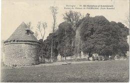 St-Sulpice-d'Excideuil - Ruines Du Château De Premilhac (Style Romain) - Autres Communes