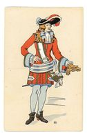 CPA COSTUMES REGNE DE LOUIS XIV 1695 - Künstlerkarten