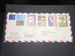 FUJEIRA - Enveloppe En Recommandé Pour Paris En 1970 , Affranchissement Plaisant - L 13985 - Fujeira