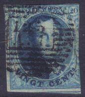 B/TB: 2 Numero 7 A Examiner - P123 A1 Et P74 - 1851-1857 Médaillons (6/8)