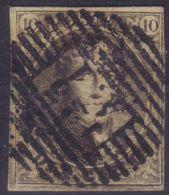 B/TB: 4 Numero 6 A Examiner - 1851-1857 Medallones (6/8)