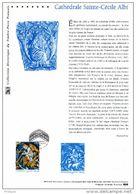 """(Prix à La Poste = 5 €) """" CATHEDRALE D'ALBI """"  Sur Doc. Officiel De 2009. N° YT 4336. Parfait état. DPO - 2000-2009"""