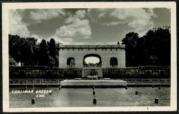 RB 1198 -  Real Photo Postcard - Shalimar Garden Lahore Pakistan - Pakistan