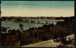 RB 1198 -  Early Postcard - Gladesville Bridge Parramatta River Sydney Australia - Sydney