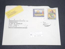IRAQ - Enveloppe En Recommandé De Mosul Pour Paris , Période 1999 - L 13992 - Iraq