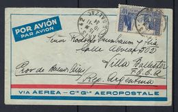 Lettre De France Pour L'Argentine Du 10/11/34 Arriévée Le 19/10/34 - Poste Aérienne