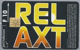 NL.- Telefoonkaart. PTT Telecom. 10 Gulden. RELAXT. STRESS. H423 - Ontwikkeling