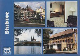 AK Slubice Odra Frankfurt Oder Hotel Polonia Ulica Daszynskiego 1 Warta Tourist Polska Polski Polen Poland Pologne - Polen