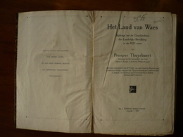 Het Land Van Waes, Prosper Thuysbaert - Livres, BD, Revues