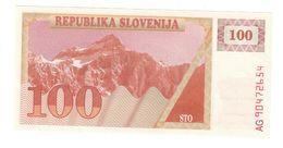 Slovenia 100 Tolarjev 1990 UNC  .C. - Slovénie