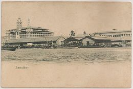 CPA Carte Postale Tanzania - Zanzibar - Stone Town - Palace Of Wonders - Sea Front - Harbor - Postcard - Tanzania