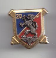 Pin's Du 20 ème GA Ex Ralp Parachutiste Dragon Réf 3755 - Army