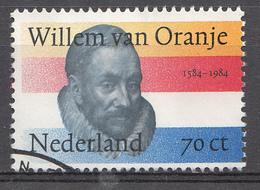 Pays-Bas 1984  Mi.nr: 1256 Todestag Von Prinz Wilhelm I Von Oranien  Oblitérés / Used / Gestempeld - 1980-... (Beatrix)