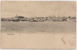 CPA - Carte Postale Tanzania - Zanzibar - Stone Town - Sea Front - Harbor -  House Of Wonders - Postcard - Tanzania