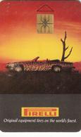 Czech Phonecard Pirelli - Jaguar  Superb Fine Used - Czechoslovakia