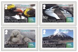 South Georgia 2016 Zavodovski Island Mountains Penguins Volcano (Mount Curry) MNH ** - Géorgie Du Sud
