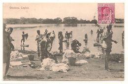 Sri Lanka - Ceylon - Dhobies - Laveuses -   CPA° - Sri Lanka (Ceylon)