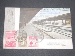 JAPON - Carte -  La Gare De Osaka - L 14010 - Osaka
