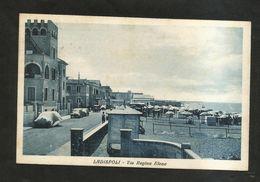 LADISPOLI ( RM ) - Via Regina ELENA - ( Spedita 1938 ) - Italia