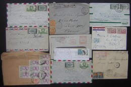Mexique (mexico) Lot De 10 Lettres Et Cartes, Différentes époques Voir Photos ! - Mexique