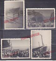 Au Plus Rapide La Seyne Sur Mer Var 1947 Le Renouveau Des Chantiers ! Lancement Bananier Djoliba - Boats