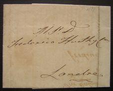 1829 Perou (peru) Lima, Lettre Pour Londres - Peru