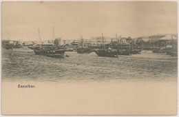 CPA - Carte Postale Tanzania - Zanzibar - Stone Town - Harbor - Sea Front - Postcard - Tanzania