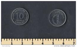 Comoros 10 Francs 2001 - Comores