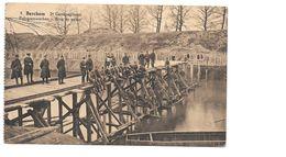 Antwerpen Berchem Militair, 2e Regiment, Brug Op Palen. - Antwerpen