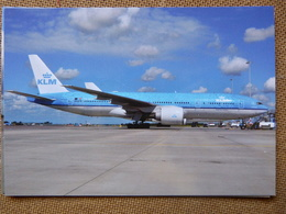 KLM  B 777 206ER    PH BQP - 1946-....: Moderne