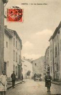CPA - CHATEL-sur-MOSELLE (88) - Aspect De La Rue Jeanne D'Arc En 1910 - Chatel Sur Moselle