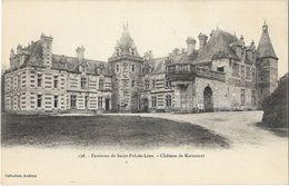 Environs De Saint-Pol-de-Léon - Château De Keruzoret - Saint-Pol-de-Léon