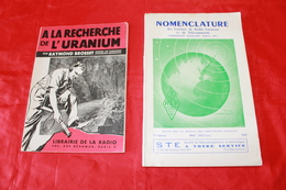 2 LIVRES ANCIENS RADIO AMATEUR - Littérature & Schémas