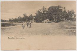 CPA - Carte Postale Tanzania - Zanzibar - Neger Viertel - Beach - Postcard - Tanzania