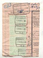 D171a -België  Spoorweg Chemin De Fer  Op Fragment  Met Stempel MARCHIENNE ZONE +weegstempel - Chemins De Fer