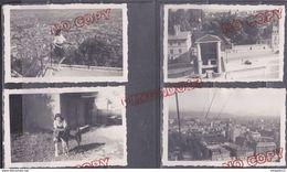 Au Plus Rapide Grenoble Isère Téléphérique De La Bastille âne Juillet 1946  Beau Format Excellent état - Lieux