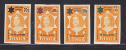 TONGA SERVICE AERIEN N°   37 à 40 ** MNH Neufs Sans Charnière, TB (D5367) Hommage à La Reine Salote Tupou III - Tonga (1970-...)