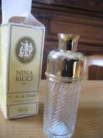 Flacon Vide  Et Sa Boîte Carton  D Origine L Air Du Temps Nina Ricci  Atomiseur  108 Ml - Bottles (empty)