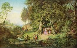 Adrian Ludwig Richter - Brautzug Im Frühling - Malerei & Gemälde