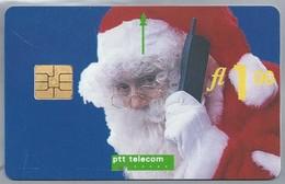 NL.- Telefoonkaart. PTT Telecom. 1 Gulden. Prettige Kerstdagen En Een Gelukkig Nieuwjaar. B418 - Kerstmis