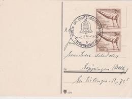 ALLEMAGNE 1936 CARTE POSTALE DE BERLIN  CACHET ILLUSTRE  JEUX OLYMPIQUES - Allemagne