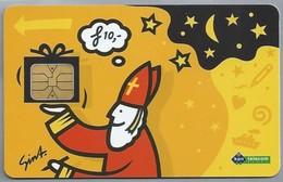 NL.- Telefoonkaart. PTT Telecom. 10 Gulden. Sinterklaas Zat Te Denken, ... A435 - Telefoonkaarten