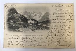 Col Du Lautaret Et Glacier De L'homme. 81 Robert. Grenoble. Précurseur 1900 - Sonstige Gemeinden