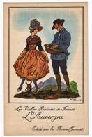 """PUBLICITÉ POUR"""" LES FARINES JAMMET"""" """"L'AUVERGNE """" LES PROVINCES DE FRANCE. PAR JEAN DROIT - Droit"""