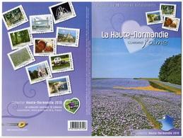 RC 7300 FRANCE COLLECTOR LA HAUTE NORMANDIE COMME J'AIME AUTOADHÉSIFS NEUF ** - France