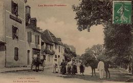 64  ARZACQ  LA PLACE DU MARCADIEU ATTELAGE CHEVAL - France