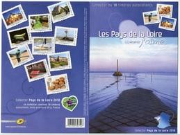 RC 7302 FRANCE COLLECTOR LES PAYS DE LA LOIRE COMME J'AIME AUTOADHÉSIFS NEUF ** - France