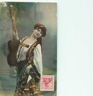 Belle  Femme  à La Guitare       AF347 - Donne
