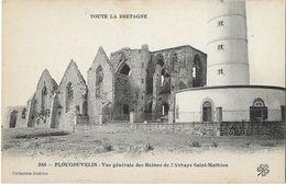 Plougouvelin - Vue Générale Des Ruines De L'Abbaye Saint-Mathieu - Plougonvelin